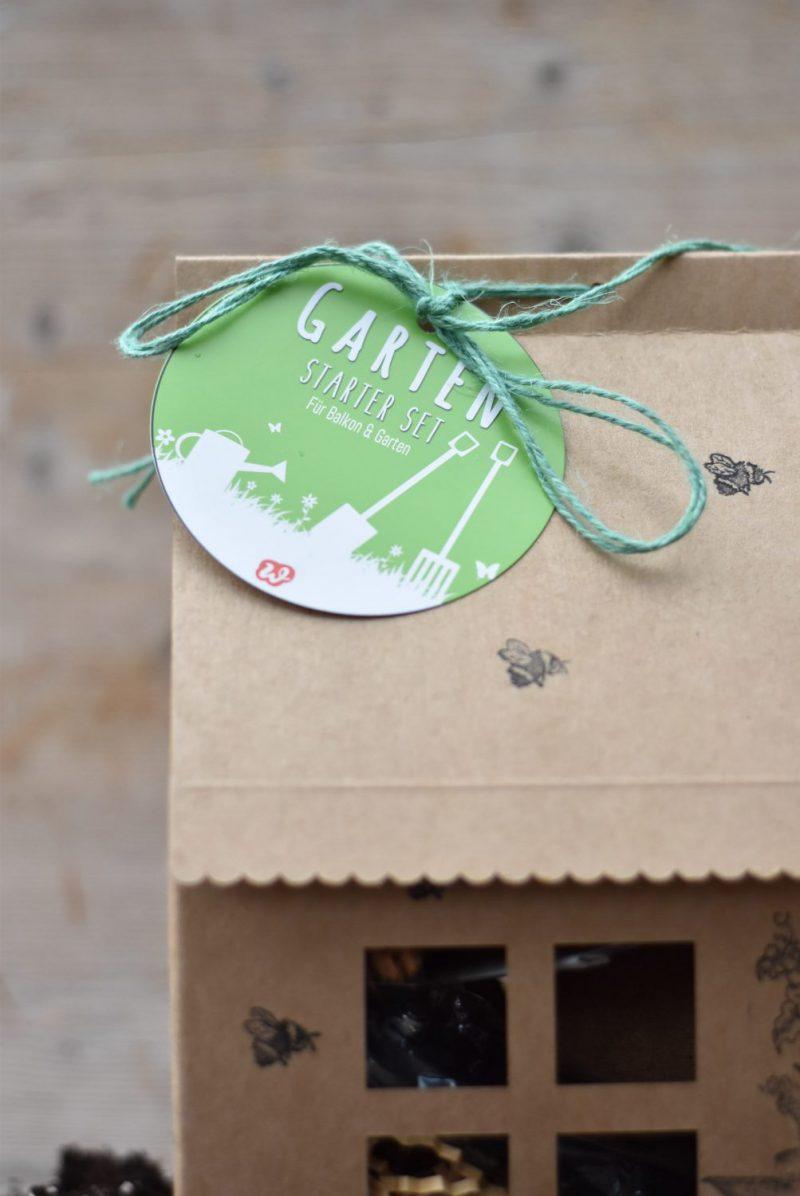 GartenStarterSet, Wunderle, Geschenk, Geschenkidee, Gartenlust, gefertigt in Werkstätten für behinderte Menschen