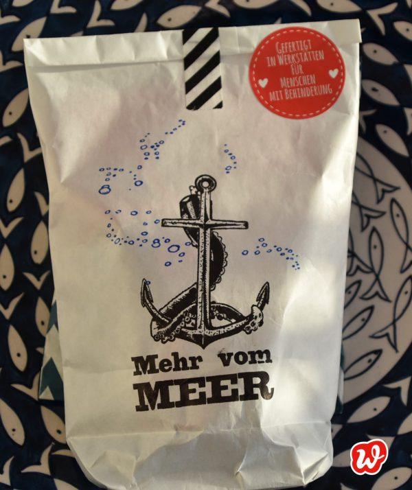 Wunderle, Wundertüte, Mehr vom Meer, Geschenk, Geschenkideen, gefertigt in Werkstätten für Menschen mit Behinderung