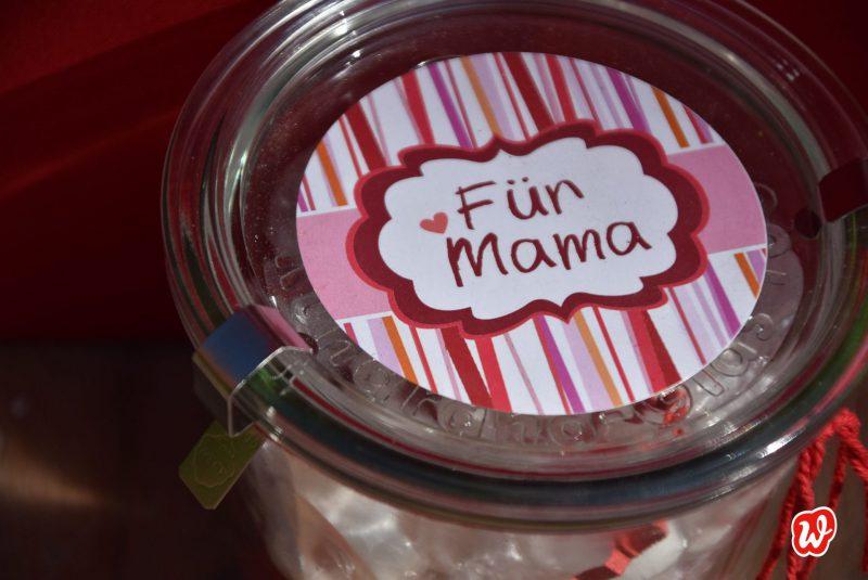Wunderle, für Mama, Liebe, Liebeserklärung, Geschenk, Geschenkidee, gefertigt in Werkstätten für Menschen mit Behinderung