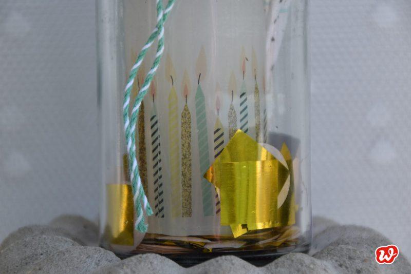 Wunderle, Geburtstagslicht, Geschenk, Geschenkideen, gefertigt in Werkstätten für Menschen mit Begeisterung, Party