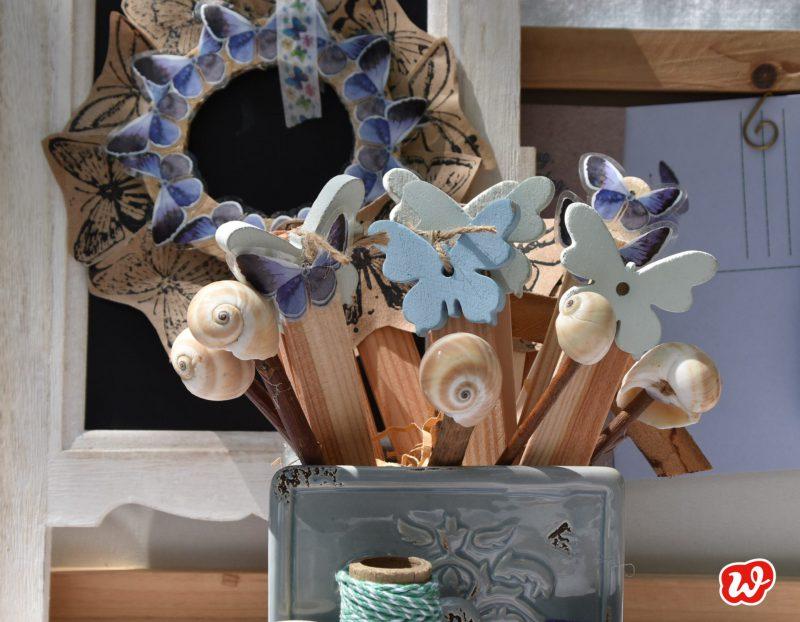 DIY, Schmetterlingspflanzenstecker, Schmetterling du schönes Ding, Sommer, Partyschmücker