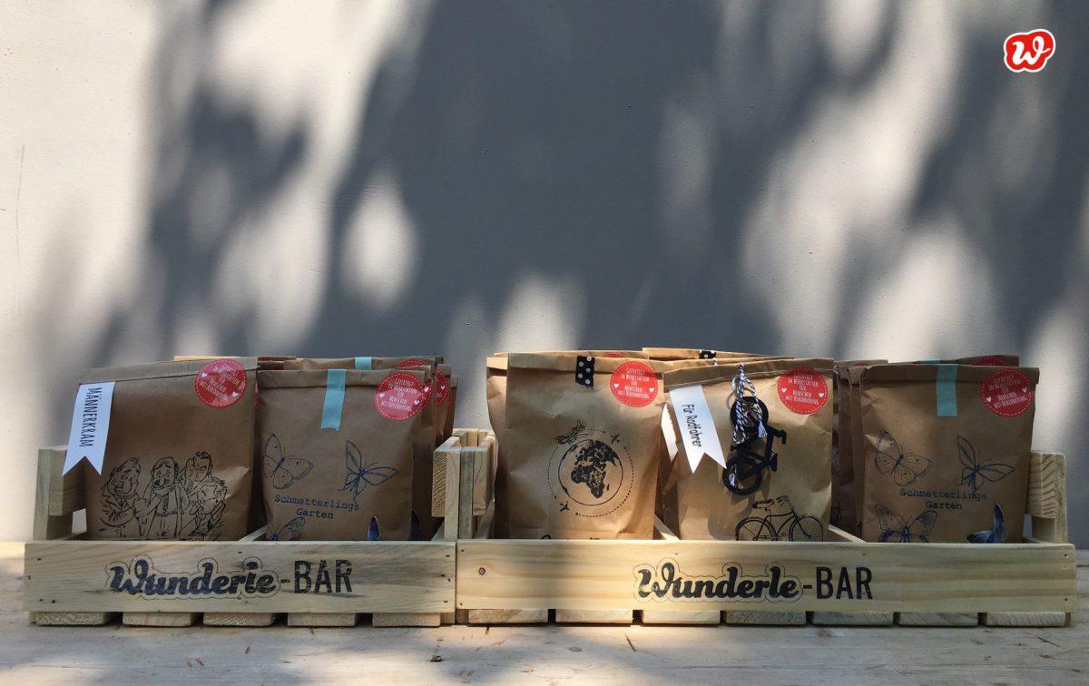 Wunderle-Bars, Holzdisplay, Neuheit, Warenpräsentation, ökologisch, umweltfreundlich, nachhaltig, weniger Müll, gefertigt in Werkstätten für menschen mit Behinderung