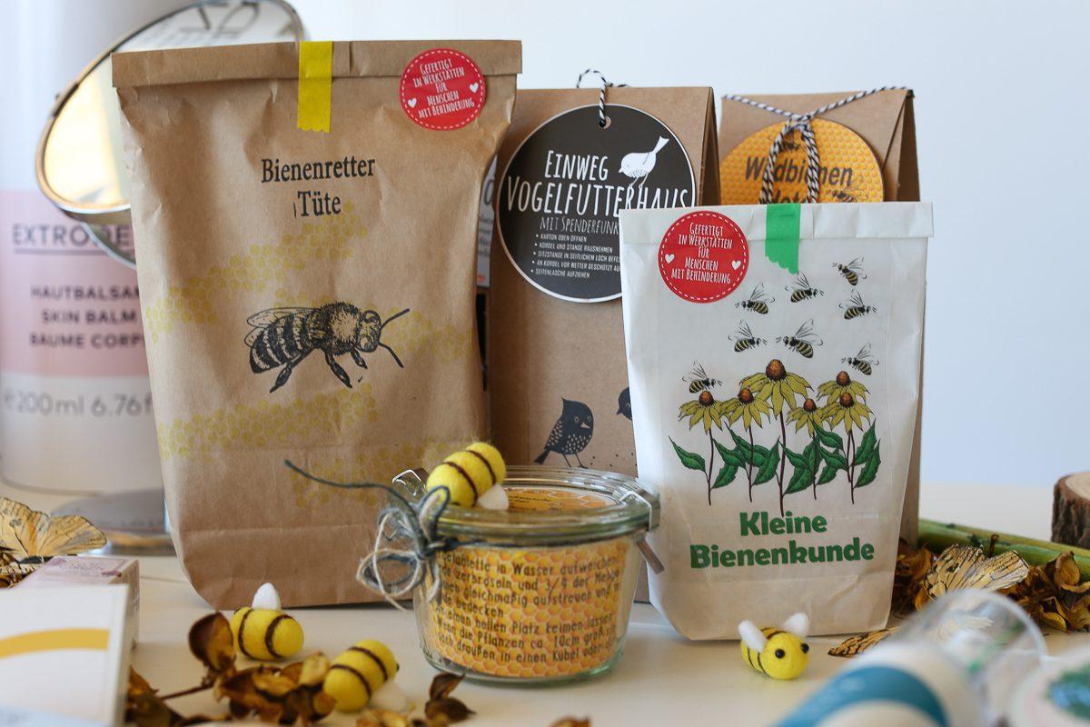 Wunderle, Bienenrettung, Biorausch, Bloggerevent, Goodiebag, Bienenretter