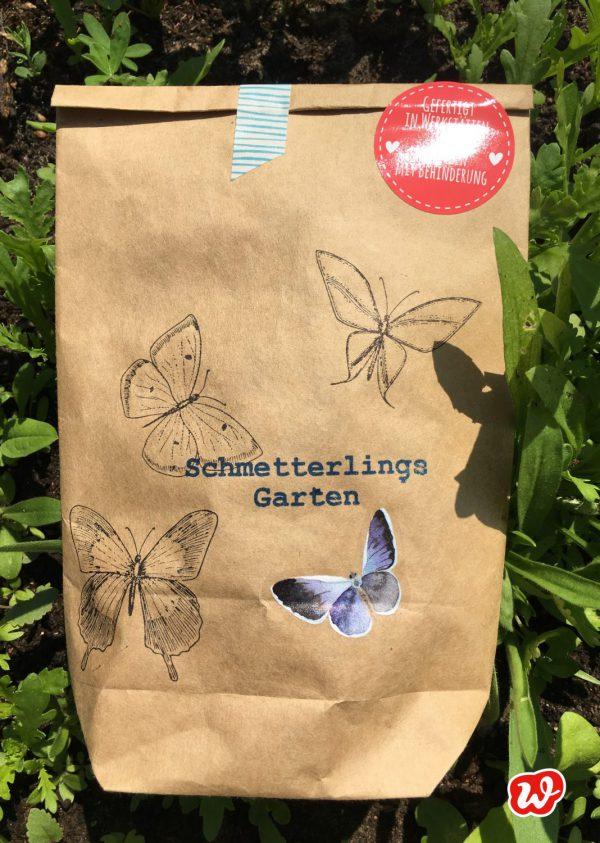 Wunderle, Schmetterlingsgarten, Naturschutz, insektenfreundliche Gärten, gefertigt in Werkstätten für Menschen mit Behinderung