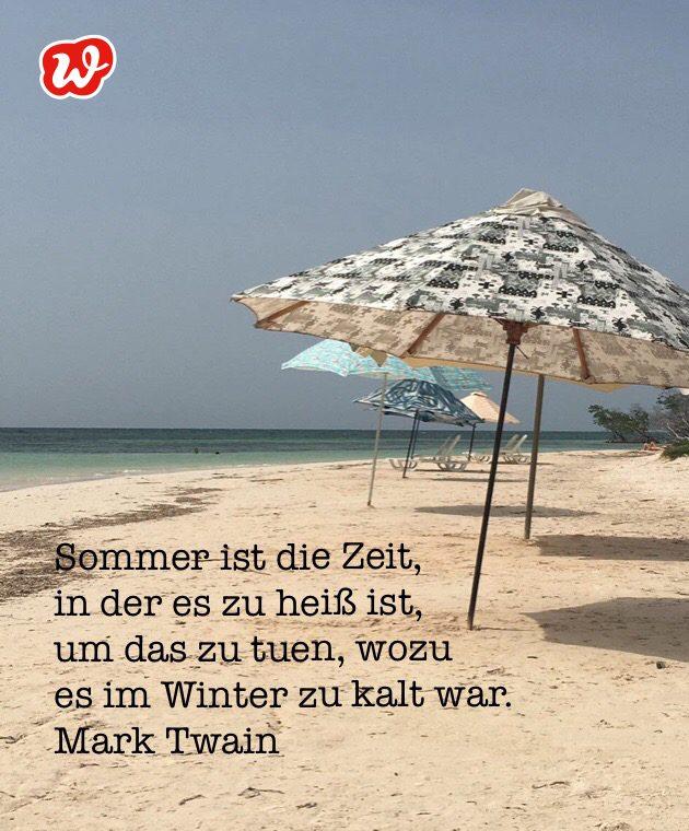 Karibikstrand, Sonnenschirme, Sommer, Sommerspruch, Lässigkeit, Coolness