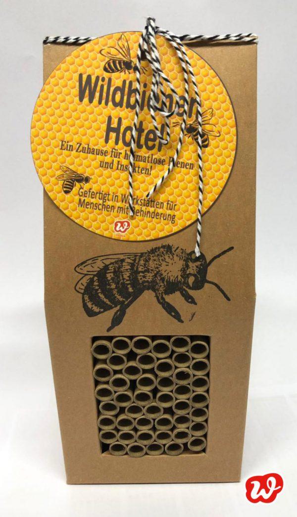 Wunderle Wildbienenhotel, Neuauflage Bienenhotel, Insektenrettung, Save the bees, Unterschlupf