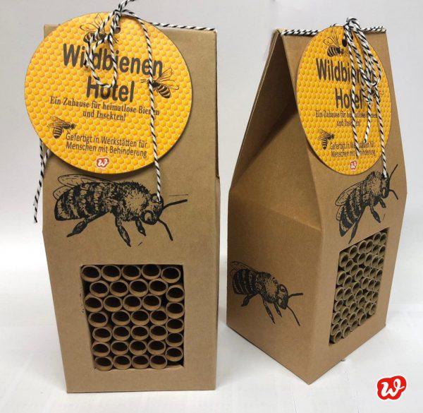 Wildbienenhotels, Save the bees, Insektenrettung, insektenfreundliche Gärten, Unterschlupf