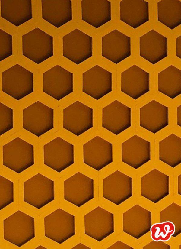 Bienenwaben aus Holz, Honig, Bienenrettung, Waben, save the bees