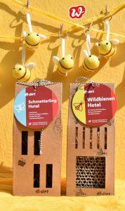 Eon, Schmetterling-und Bienenhotel, Insektenrettung, individualisiertes Werbegeschenk, was eigenes