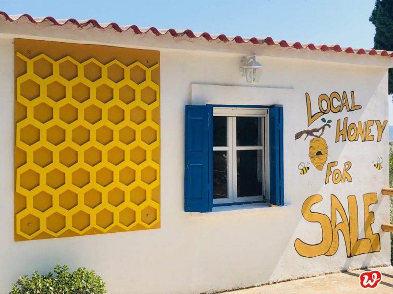 Honighaus, Honey, griechischer Honig, lecker, Waben, save the bees, Bienenrettung