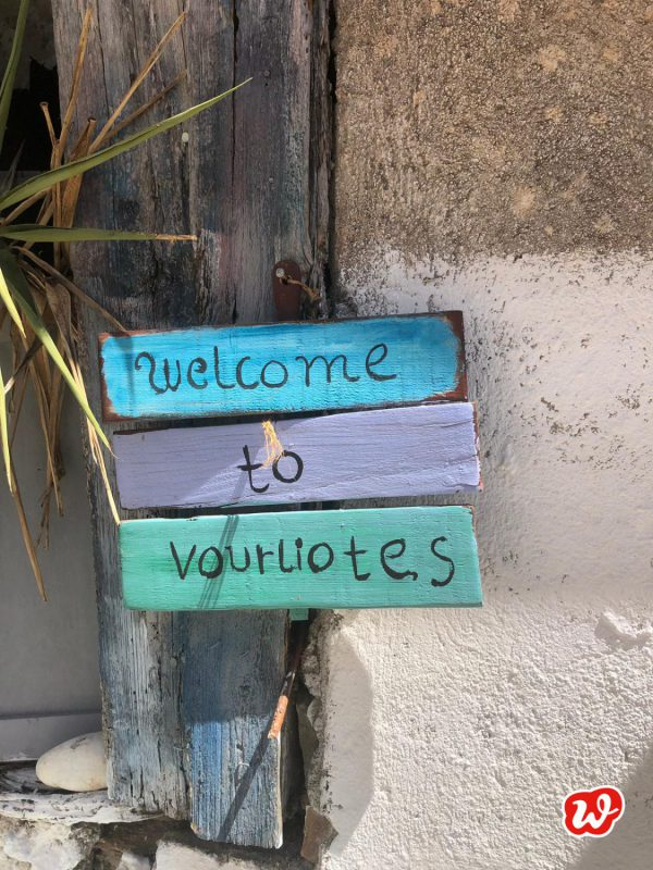 Holzschilder, Urlaub, Sommer, Welcome, Summervibes