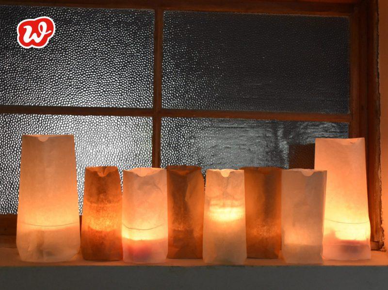 DIY, Lichttüten, Kerzen, Stimmung, Dekoration