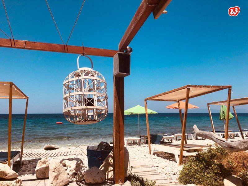 Samos, Strand, Sommer, Paradies, Sommermomente, Glück, blauer Himmel