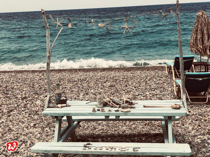 Strand, Sommer, Urlaub, Auszeit am Meer, Sommerdekoration, Samos, Seesterne, Muscheln