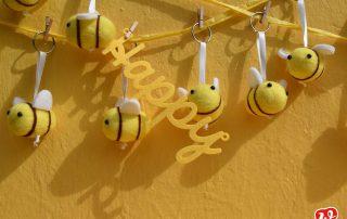 Bee happy, Filzbienen, Bienenrettung, Statement