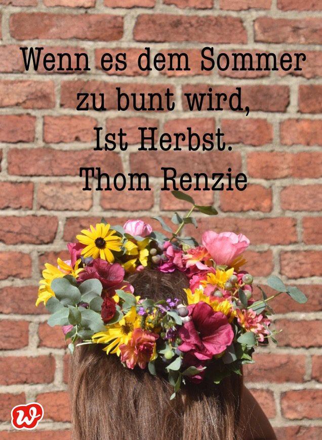 Blumenkranz, Blumenmädchen, Herbstquote, Willkommen Herbst, Jahreszeitenwechsel, September