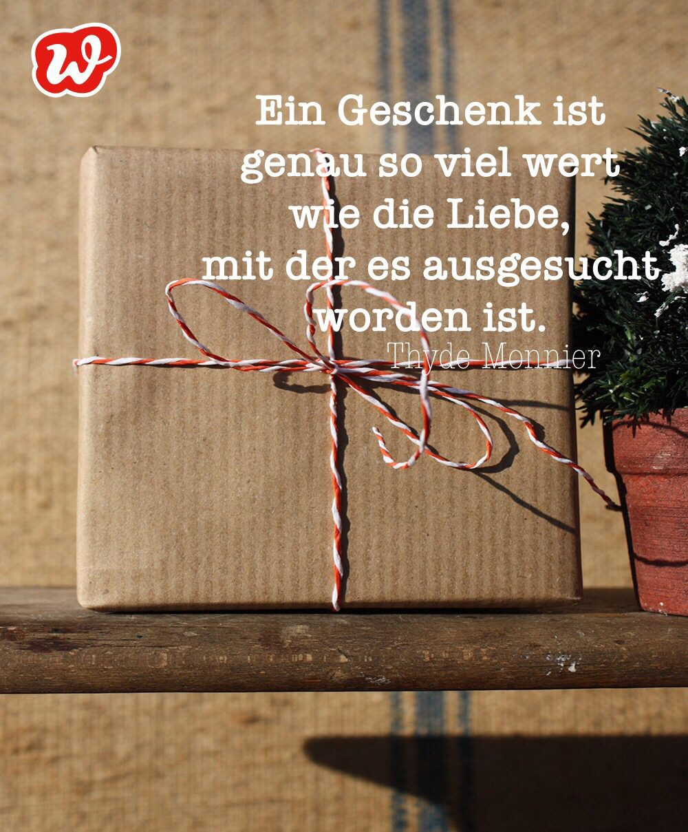 Geschenk, Zitat, Wilhelm Busch, Glück, die kleinen Dinge