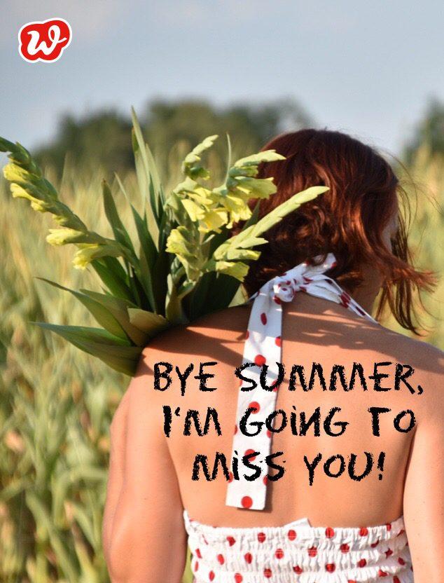 Bye Summer, Blumenfeld, Spätsommer, Me, Selfie