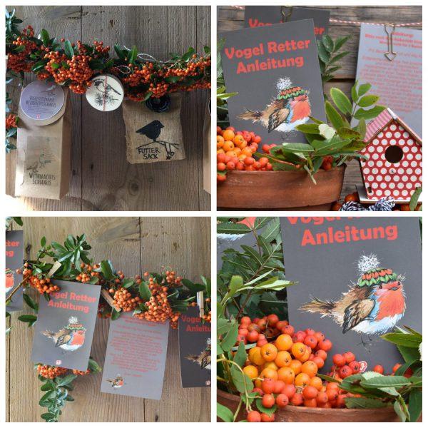 Wunderle Produkte Vogelrettung Collage
