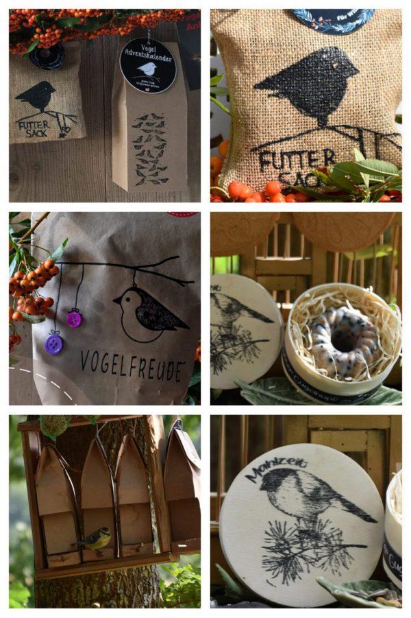 Wunderle Vogelfütterung Details