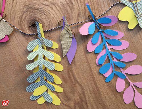 Herbstlieblinge – DIY Bunte Blätter