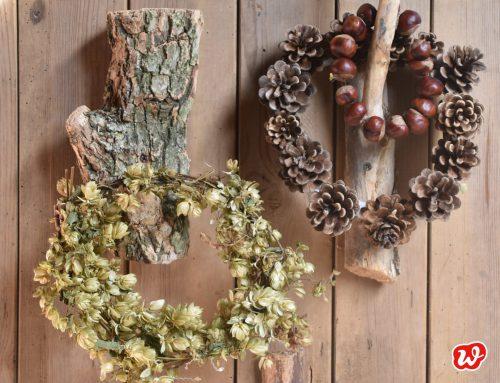 Allerschnellstes Herbst-DIY – Holzhaken