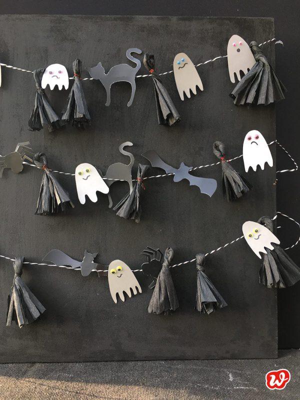 Gespenstergirlanden Halloween