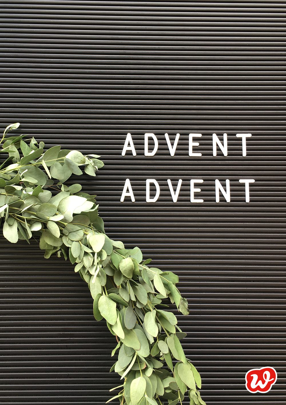 Advent Advent Letterboard