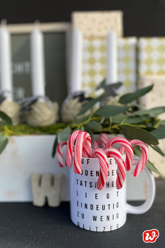 Zuckerstangen, Weihnachtsdekoration, Wunderle Geschenkideen