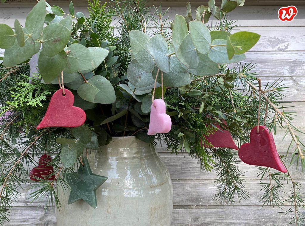 Wachsanhänger, Weihnachten, Weihnachtskranz, Advent, Wunderle Geschenkideen