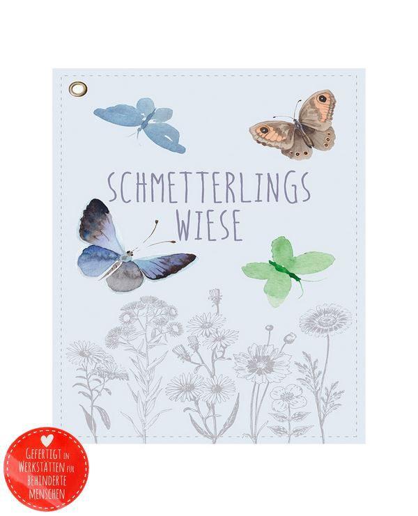 Wunderle Schmetterlingswiese mit rotem Button