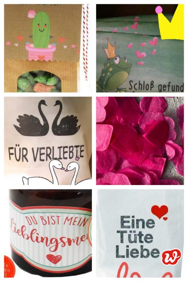 Kollage Wunderle Valentinsgeschenke 2