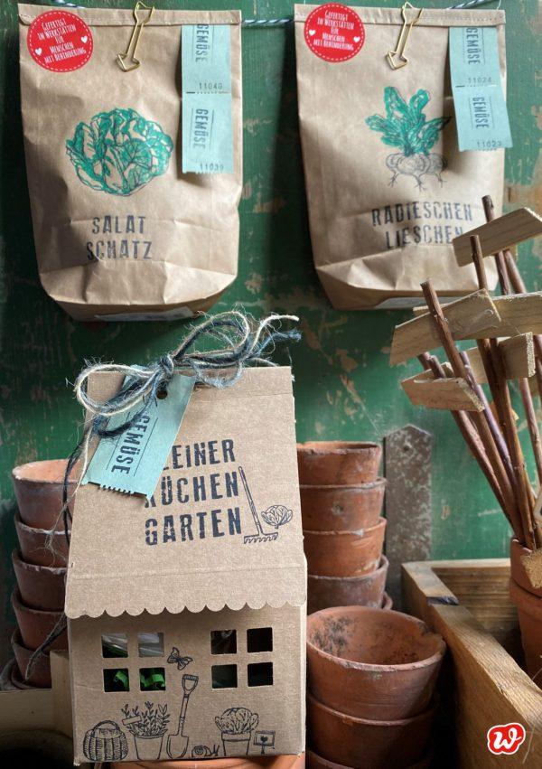 Wunderle Gartenfreunde in Packpapieroptik