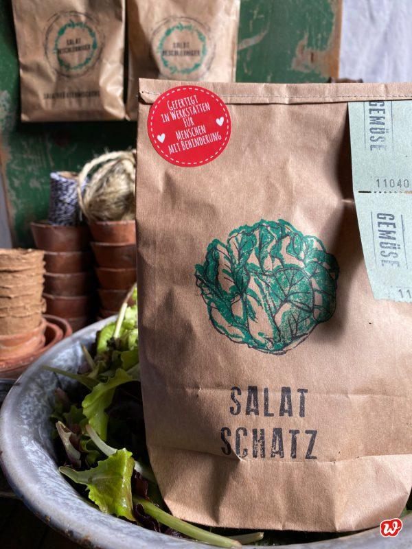 Wunderle Braune Packpapierwundertüte Salat Schatz