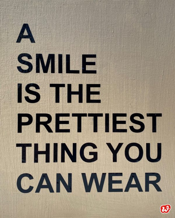 Statement A smile is...