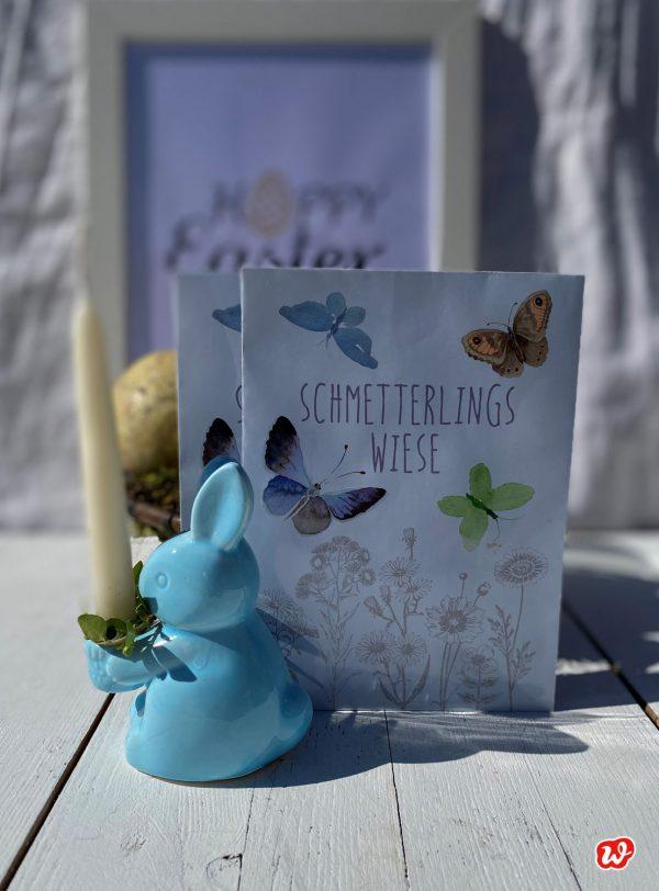 Wunderle Schmetterlingswiese an Osterszenario