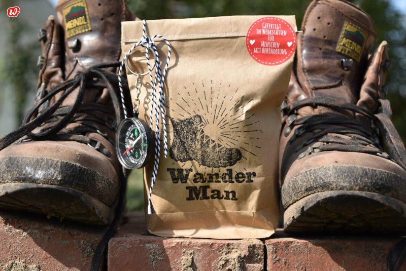 Wunderle Packpapier Wanderman Wundertüte