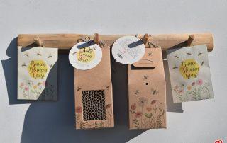 Wunderle XL Bienenhotel und Bienenblumenwiese