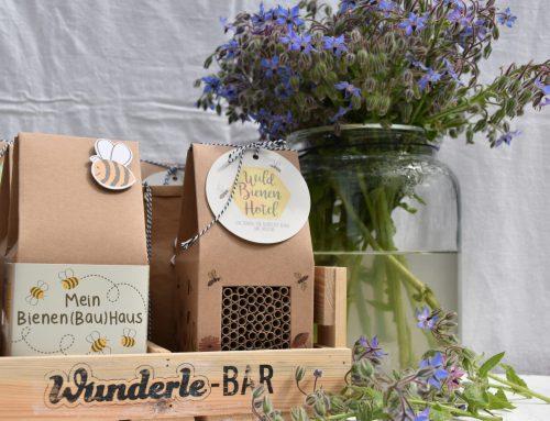Bienen retten leicht gemacht – Wunder für kleine und große Retter & Borretsch: ein Gaumen- & Augenschmaus