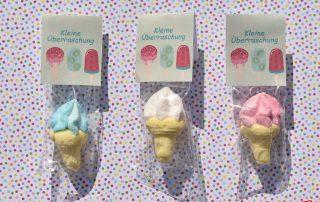 Wunderle Eiswaffeln aus Zuckerschaum