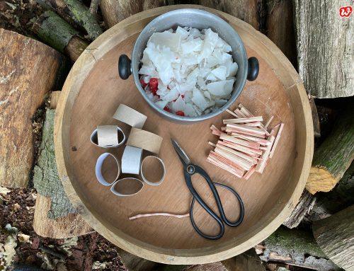 Grillen ein Dauerbrenner! Ein Must Have: Handgemachte, garantiert zündende Grillanzünder