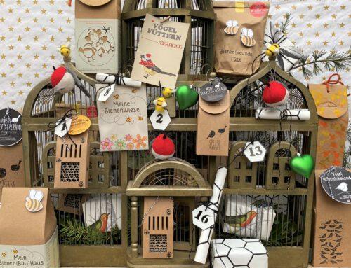 DIY- Adventskalender: Wir beginnen mit einem Vogelkäfig voller Narren…neee, Quatsch, unser DIY-Adventskalender für Tier- & Naturfreunde