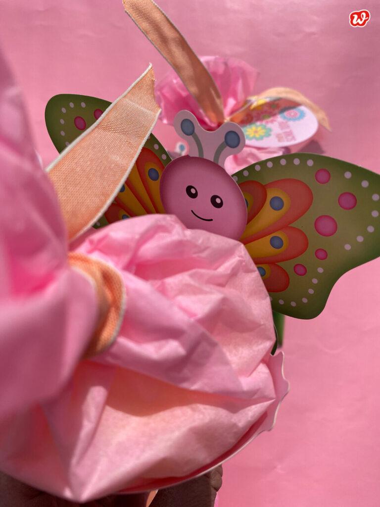 Mini Schultüte Schmetterling