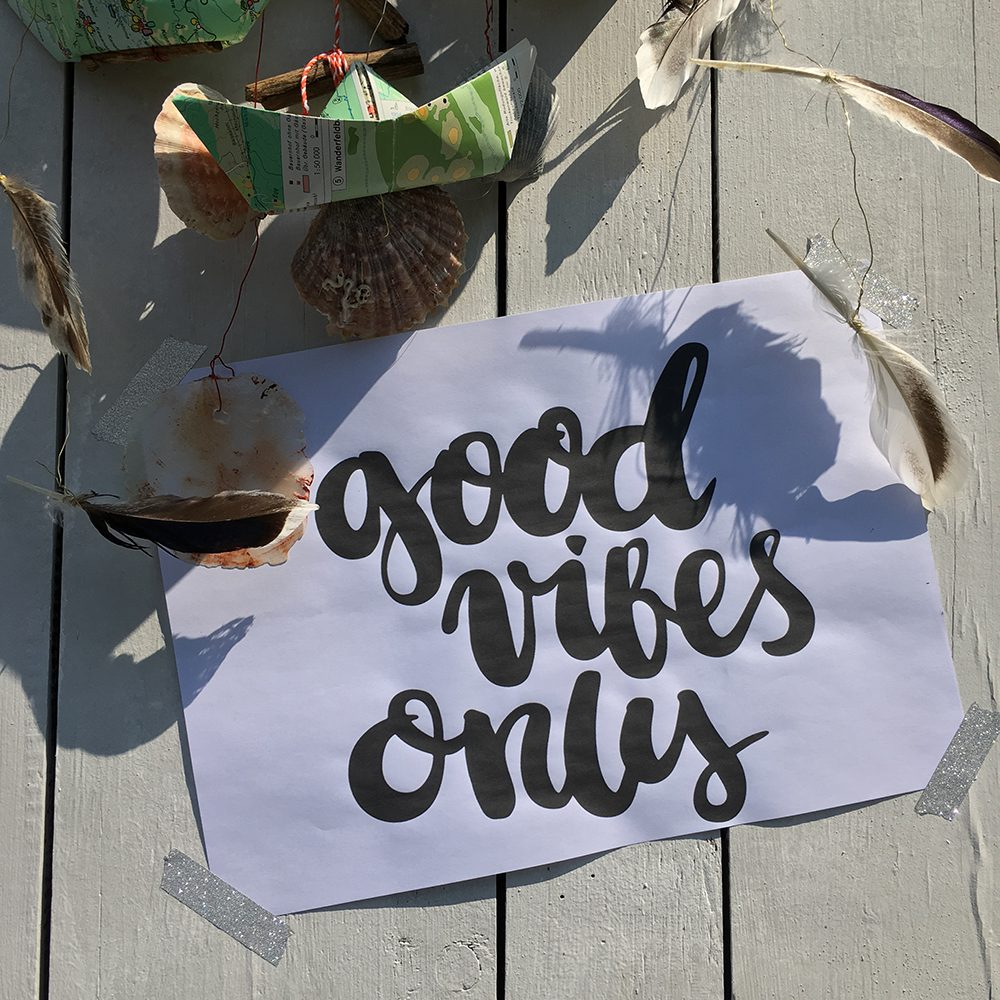 Free Printable Good Vibes