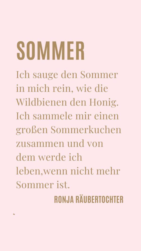 Ronja Räubertochter Sommer