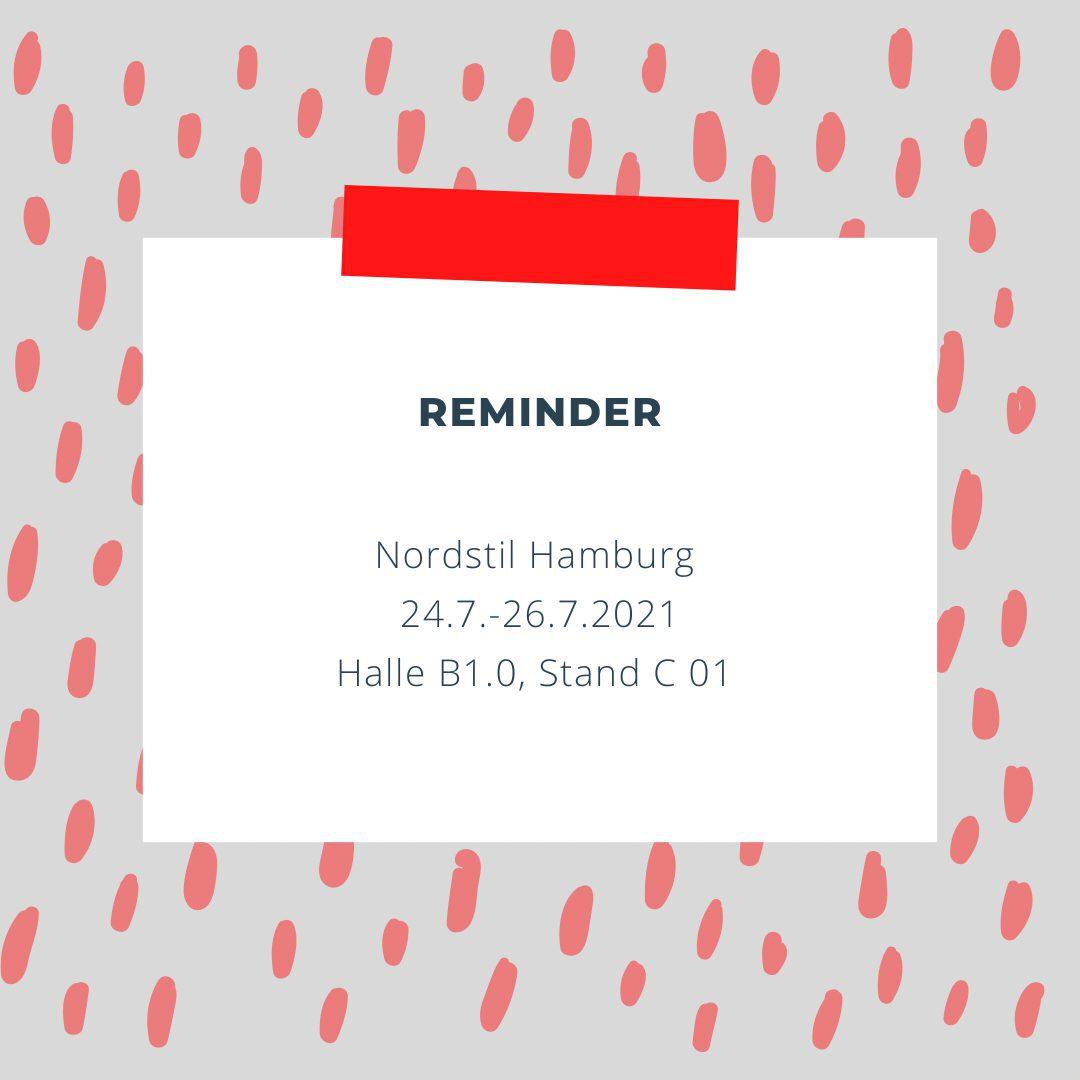 Reminder Messe Nordstil Hamburg
