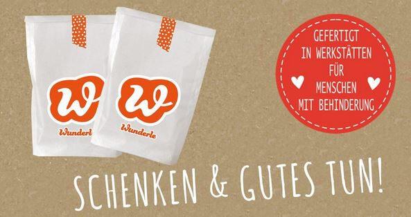 Wunderle-Banner Schenken & Gutes tuen