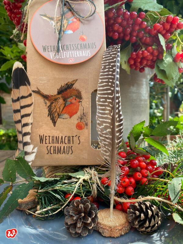 Wunderle Weihnachtsschmaus Vogelfutterhaus