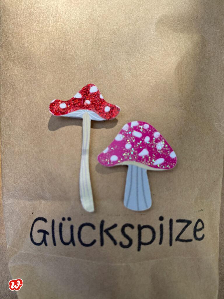 Wunderle Detail Mini Wundertüte Glückspilze